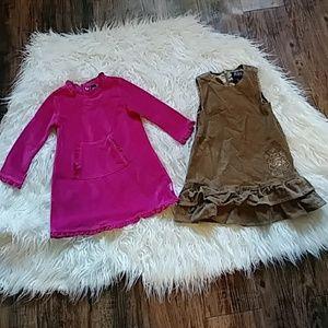 24mos bundle Fall/Winter girls dresses